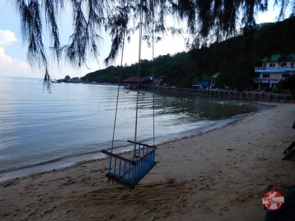 bahia en ko tao tailandia