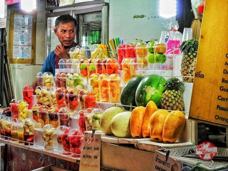 puesto de fruta chiang mai