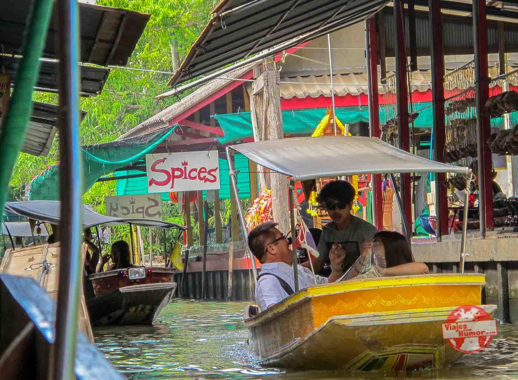 mercado flotante cerba bangkok