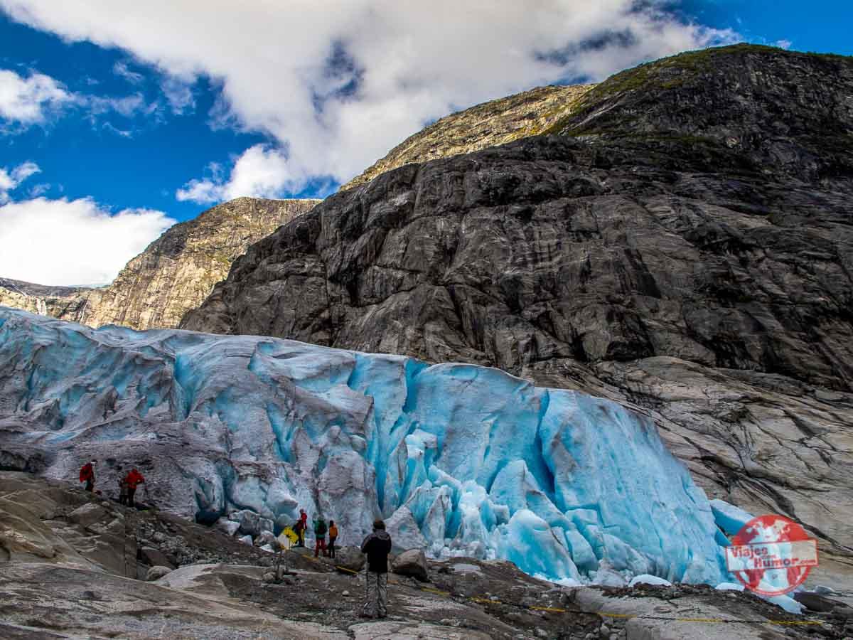 glaciar jostedal