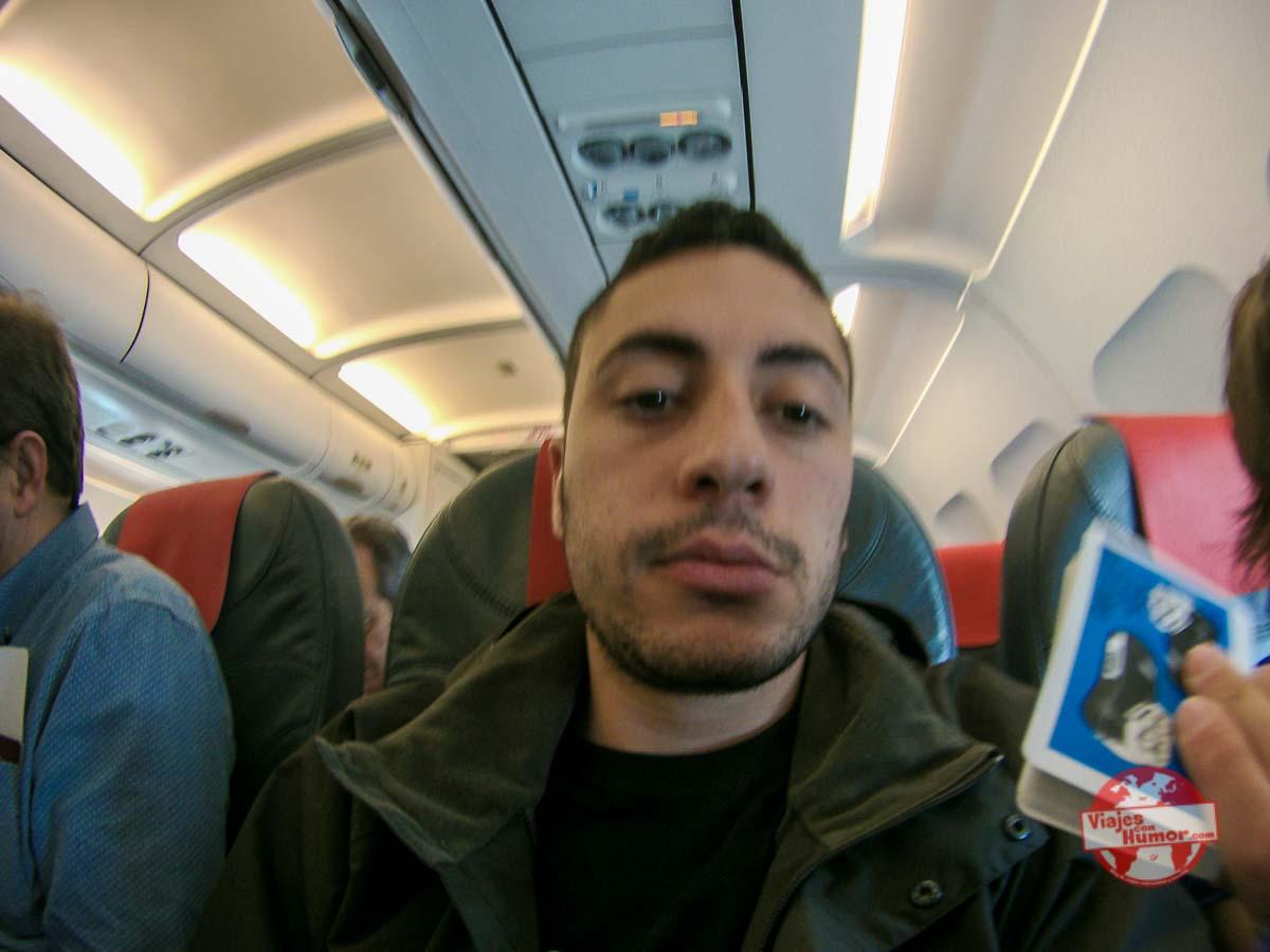 aburrimiento en avion