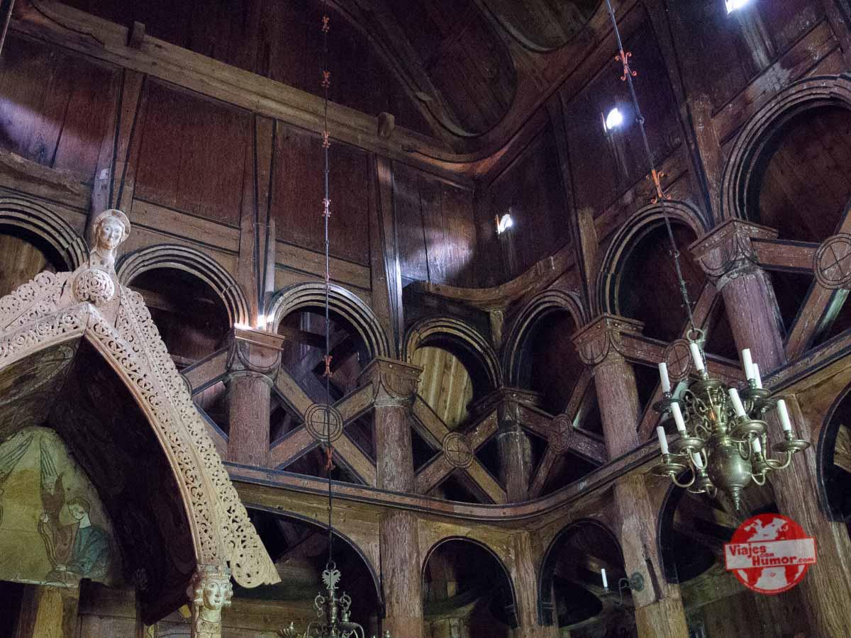 iglesia de madera de vik