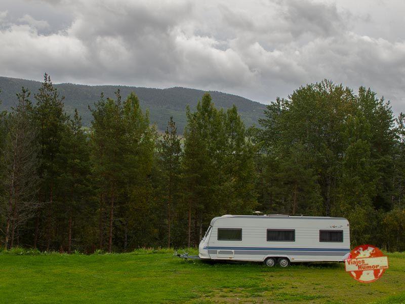 acampar en noruega