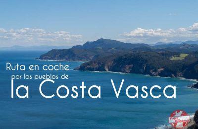 ruta en coche por la costa vasca