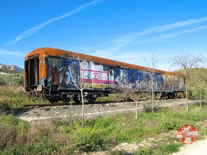 antiguo ferrocarril jaen