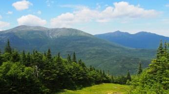 Vista de Mount Washington, el pico más alto al este del Mississippi