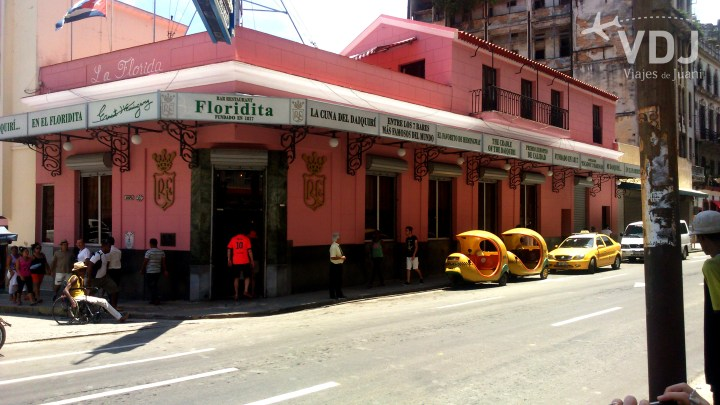 Bar Floridita en la Habana