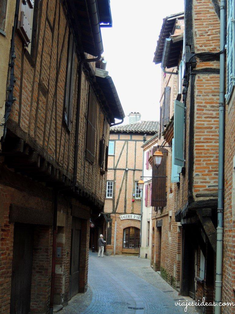 Una calle de Albí