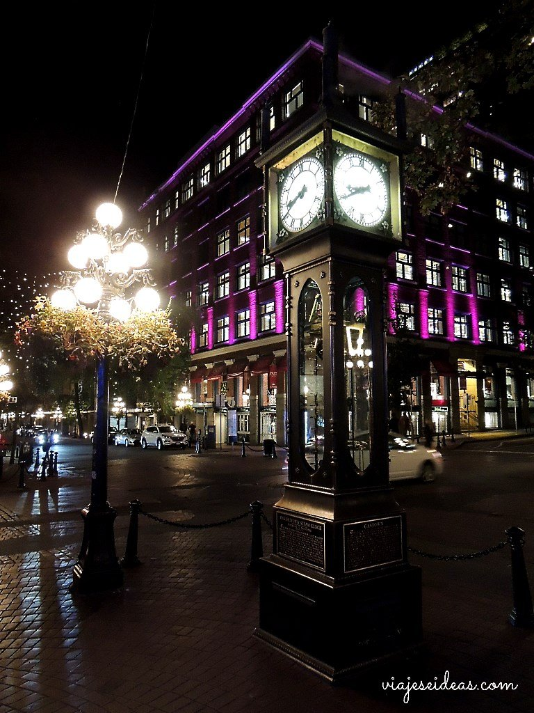 Que hacer en Vancouver, Steam Clock