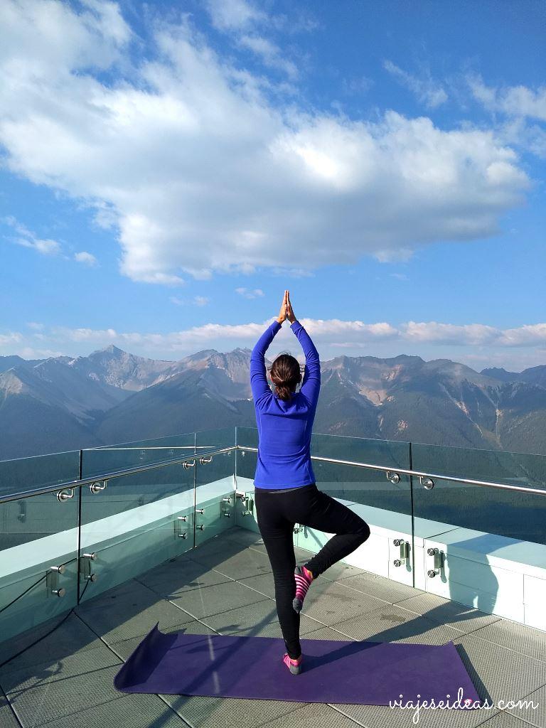 Yoga en las Montañas Rocosas, Banff