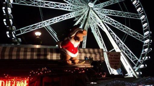 La noria en Navidad - Paris