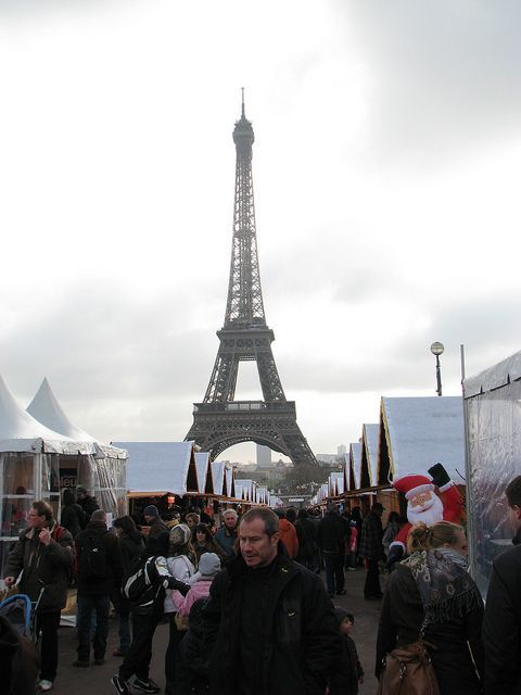 Torre Eiffel en Navidad - Paris