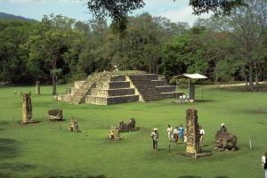 Panoramica del Parque Arqueologico copan