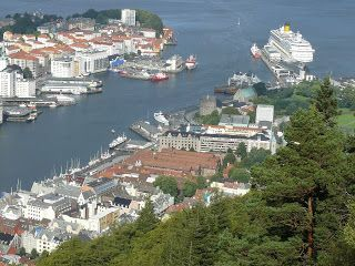 Atracciones en Bergen, Noruega