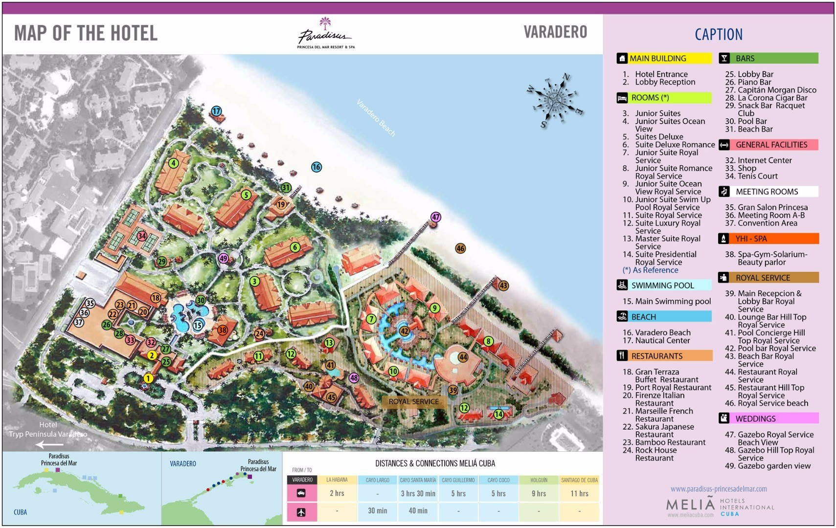 Paradisus Resort Map Pictures To Pin On Pinterest PinsDaddy