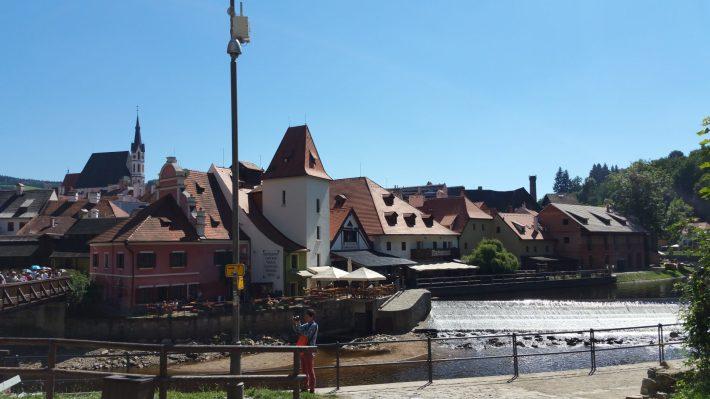 Cesky Krumlov  (R. Checa) Las mejores excursiones desde Praga.