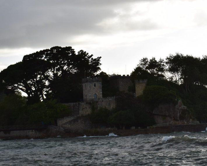 Castillo de Sta. Cruz (A Coruña). 5 de los castillos mas impresionantes y bonitos de España.