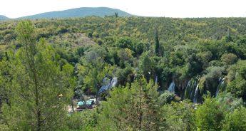 Kravice (Bosnia Herzegovina). Las mejores excursiones desde Dubrovnik (Croacia).