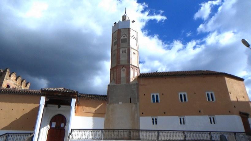 Mezquita. Plaza Uta El Hamman. Chefchaouen (Marruecos)