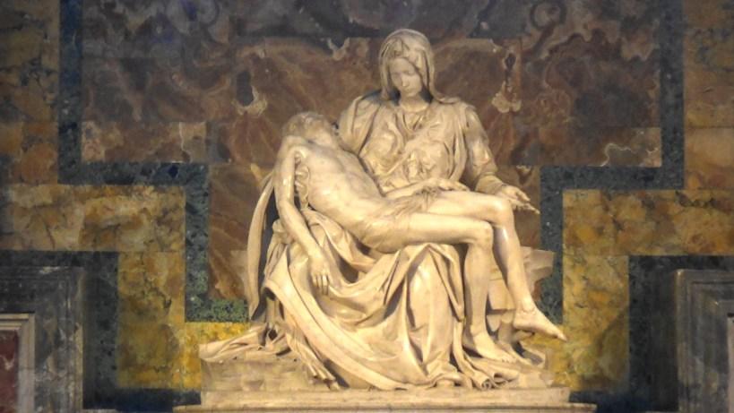 La piedad de Miguel Angel. El Vaticano (Ciudad del Vaticano)