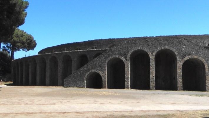 Anfiteatro. Pompeya (Italia)