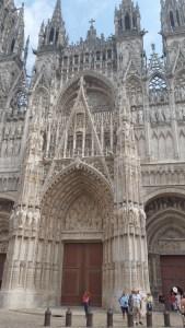 Catedral de Notre Dame. Rouen (Francia)
