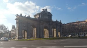 Puerta de Alcalá. Madrid (España)