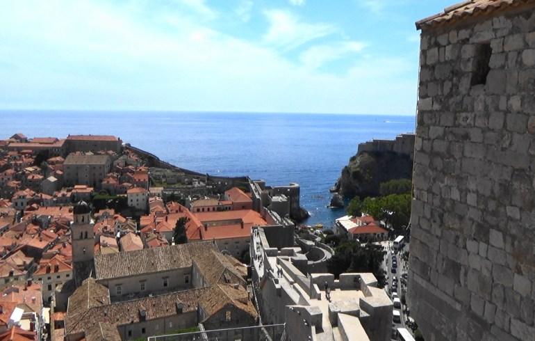 Vistas desde las murallas. Dubrovnik (Croacia)
