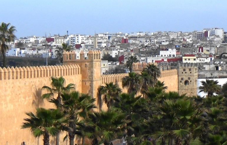 Murallas de la Kasbah de los Oudayas. Rabat (Marruecos)