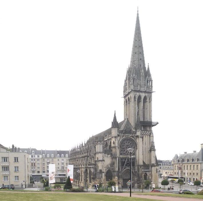 Iglesia St. Pierre. Caen (Francia)