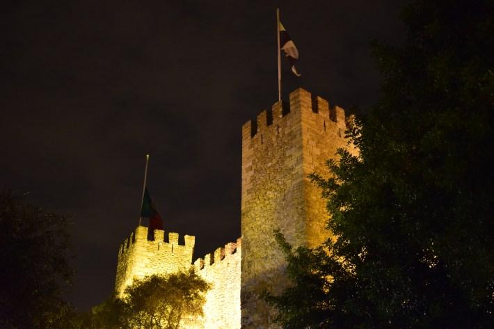 Castelo de São Jorge, Alfama. Lisboa (Portugal)