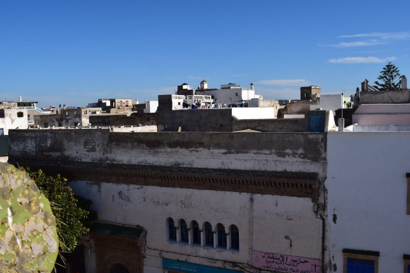 Vistas desde alguna de las azoteas. Essaouira (Marruecos)