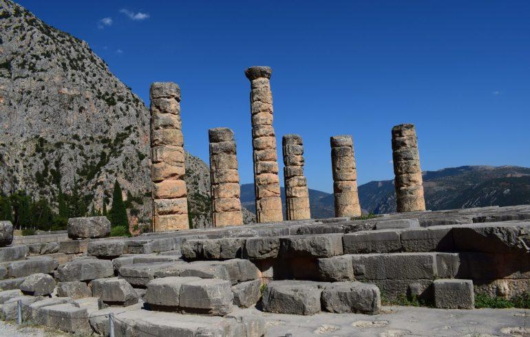 Templo de Apolo. Delfos (Grecia)