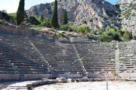 Teatro. Delfos (Grecia)