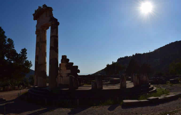 Tholos, Templo de Atenea. Delfos (Grecia)
