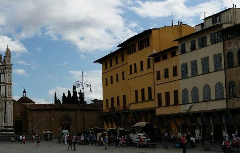 Piazza y Basílica della Santa Croce. Florencia (Italia)
