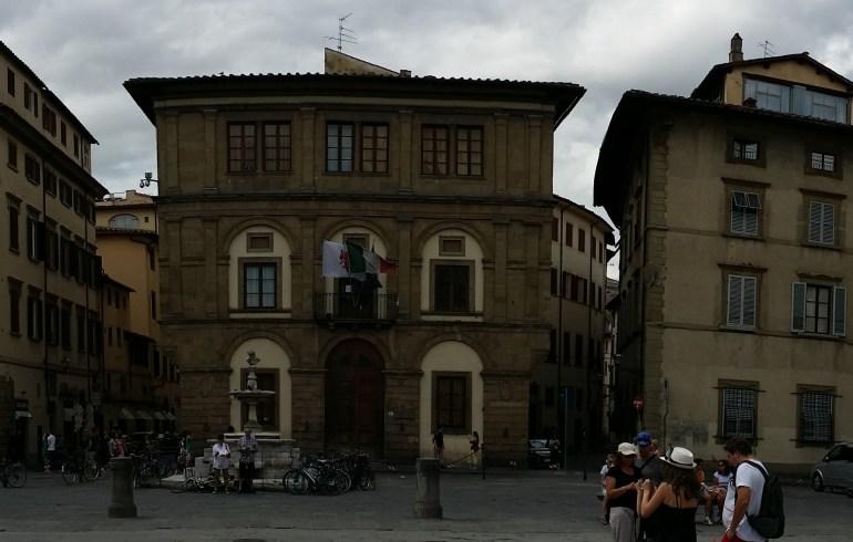 Piazza della Santa Croce. Florencia (Italia)