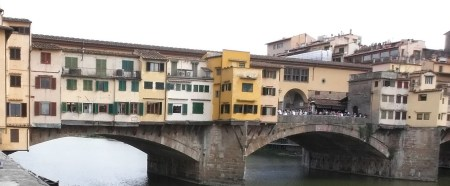 Ponte Vecchio. Florencia (Italia)