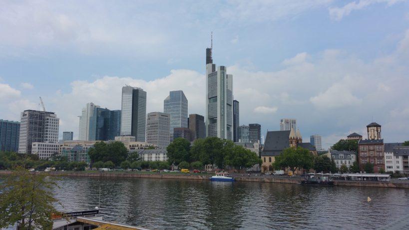 Skyline. Frankfurt (Alemania)