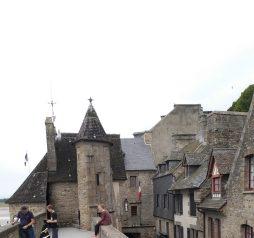 Le Mont St. Michel (Francia)