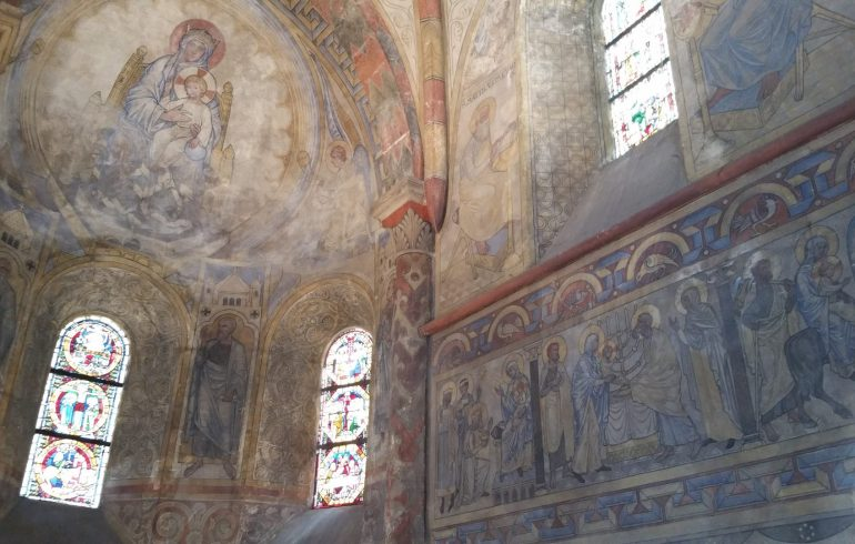 Chapelle de los Templiers. Nancy (Francia)