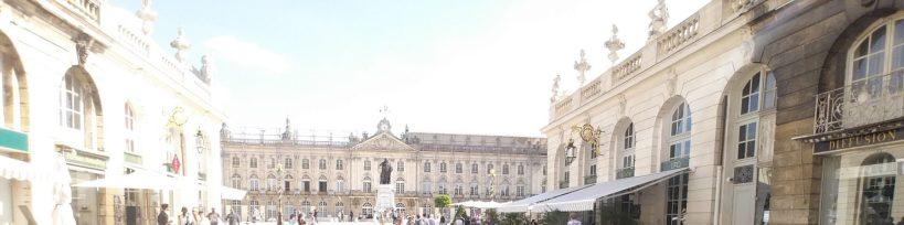 Ayuntamiento al fondo de la Plaza Stanislas. Nancy (Francia)