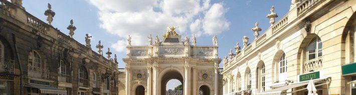 Arco del Triunfo. Nancy (Francia)