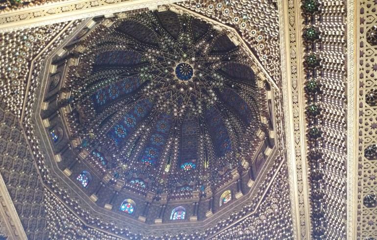 Cúpula del Mausoleo Mohamed V. Rabat (Marruecos)
