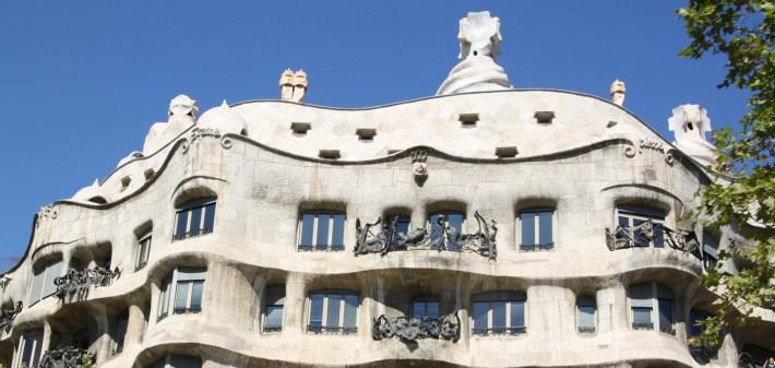 Casa Milá, La Pedrera. Barcelona (España)