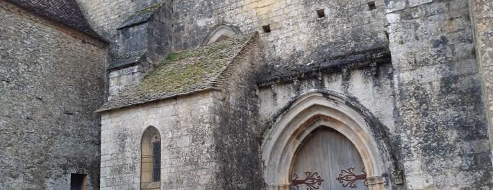 Iglesia Notre Dame de l´Assomption. Beynac et Cazenac (Francia)