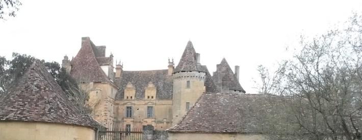 Castillo Lanquais. Perigord, Aquitania (Francia)