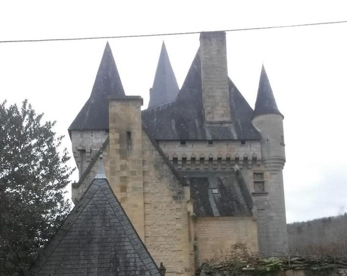 Castillo de Cleráns. St. Leon sur Vezere (Francia)