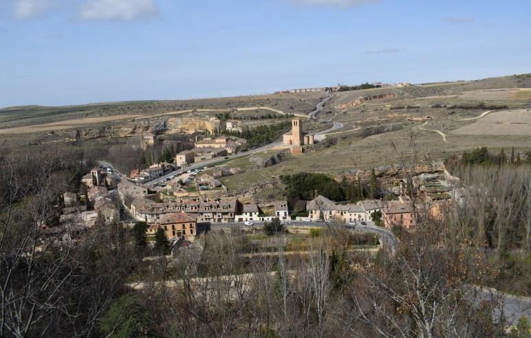Vistas desde el Alcázar. Segovia (España)