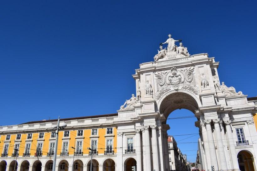 Arco da Rúa Augusta. Lisboa (Portugal)